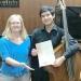 Joven músico andino Vicente Salas que integró el FOSILA estudiará en la Universidad de Mozarteum de Austria