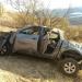 Camioneta desbarrancó sobre faldeos del Cerro La Virgen: dos lesionados
