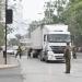 Expectación provocó fuego y explosiones de neumáticos de camión en avenida Santa Teresa