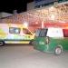 Hombre resultó herido y quedó hospitalizado al ser atropellado por camión