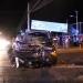 Colisión vehicular de madrugada dejó a dos personas lesionadas en el límite de Los Andes y Calle Larga