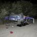 Joven mujer falleció al volcar automóvil en el bypass del sector El Sauce