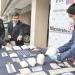En caja fuerte era guardada droga encontrada por la PDI durante allanamientos a 11 domicilios de Los Andes