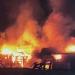Incendio arrasó con habitaciones y comedor de trabajadores en propiedad de Calle Larga