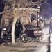 Conductor dejó abandonado automóvil luego de chocar paradero de locomoción colectiva