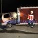 Un hombre fallecido y otro grave al estrellarse vehículo contra muralla de vivienda